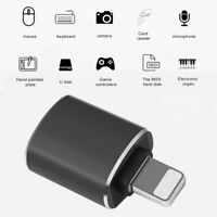 OTG adapter is suitable for Apple phone USB 3.0 U disk adapter mouse converter O