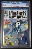 Punisher War Journal #1 Marvel Comics 1988 CGC 9.8 White Pages Origin Story