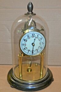 Vintage Euramca Trading Corp 400 Day Anniversary Torsion Clock Needs Pendulum