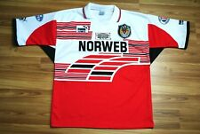 WIGAN WARRIORS 1994 HOME LEAGUE RUGBY SHIRT PUMA JERSEY SIZE ADULT LARGE MINT