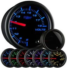 Glow Shift Tinted 7 Color Series Volt Gauge GS-T705