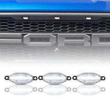 Bianco LED Griglia Corsa Evidenziatore Luci per 10-14 Ford Svt Raptor 17 +