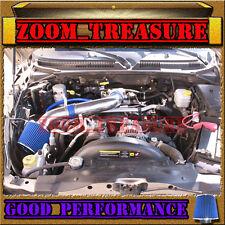 BLUE 2000-2010/00-10 DODGE DAKOTA/DURANGO/RAM 1500 V6 V8 AIR INTAKE KIT S