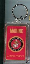 MARINES Corps Eagle on Globe  KEYCHAIN