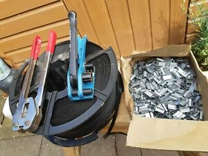 Heavy Duty Pallet Strapping Banding Kit