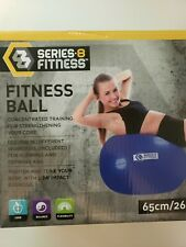 26 Inches Yoga Pilates Gym Ball Series-8 Fitness Core Balance Flexibility 65cm