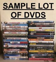 WHOLESALE LOT OF 40 BRAND NEW DVDs - Mixed Assorted Variety - No Duplicates
