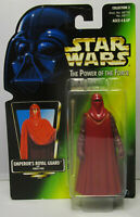 1997 Kenner Star Wars Emperor's Royal Guard POTF 2 Green Japanese Sticker Figure
