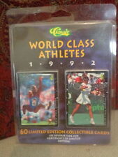 60 Limited Edition Collectable Classic World Class Athletes Cards From 1992