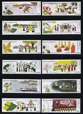 Burma/Myanmar-2019-FESTIVAL MONTHLY ISSUE -Jan.to December -12 months,12 stamps*