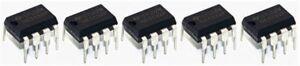 5 x NE5532 DIP8 Dual Low Noise Audio Op Amps NE5532P Amplifiers Through Hole