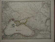 1850 SPRUNER ANTIQUE HISTORICAL MAP ~ BLACK SEA THRACIAN CIMMERIAN BOSPORUS