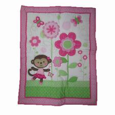 Carter's Child of Mine Dancing Ballerina Monkey crib nursery comforter blanket