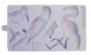 Karen Davies Sugarcraft New Tropical Birds Mould    FAST DESPATCH