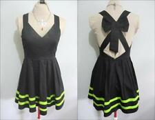 Polyester Solid Dresses Skater