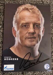Autogrammkarte FC Schalke 04 SAISON 21/22 Michael Buyo Büskens