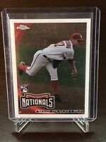 2010 Topps Chrome Stephen Strasburg RC Washington Nationals Rookie 212 Mint+