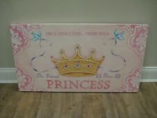 Princess Canvas kids art Colleen Karis Designs 20 by 36 Local Pickup New Jersey