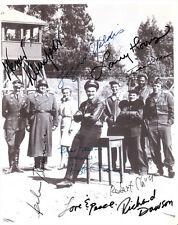HOGAN'S HEROES SIGNED PHOTO 8X10 RP AUTOGRAPH JOHN BANNER WERNER KLEMPERER + ALL