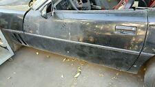 86 Corvette C4 Drivers Side Door Black bare no glass no reg no panel