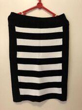 Portmans Knee-Length Straight, Pencil Striped Skirts for Women