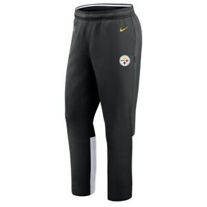 New 2021 Pittsburgh Steelers Nike Sideline Woven Performance Therma-FIT Pants
