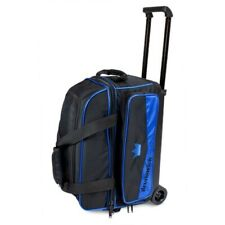 Brunswick Zone 2 Ball Roller Bowling Bag Color Royal Blue