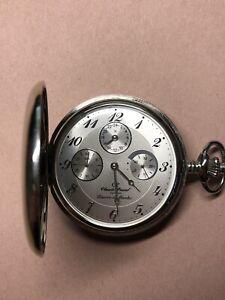 claude pascal Taschenuhr Silber 925