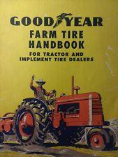 Goodyear Rubber Tire Ag Farm 1954 Tractor Sales Brochure Catalog Handbook Manual