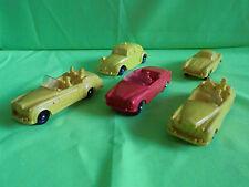 TOMTE  VINYL 1:43   VW BEETLE   PEUGEOT   MERCEDES   BENTLEY - GOOD CONDITION