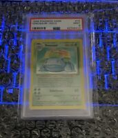 🔥VENUSAUR HOLO 1999 Pokemon Game Card Base Set Unlimited WOTC PSA 9 Mint #15🔥