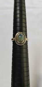 Artisian Ethiopian Opal Ring Size 8
