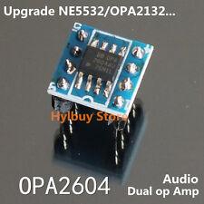 BB OPA 2604AU dual Op Amp Module Amplifier upgrade Audio Hifi NE5532 C4558