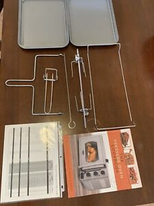 Wolfgang Puck Pressure Oven Accesories and Cookbook