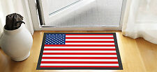 "24"" X 16"" USA AMERICA FLAG DESIGN ENTRANCE DOOR MAT NON SLIP ADVERTISING TOOL"