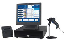 Touch Computer Kasse IBM 15 Zoll Touch mit Barcodescanner,Schublade, Bondrucker