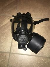 Gas Mask Medium Millennium 40mm Filter CBRN MSA W/ Voice Amplifier NEW