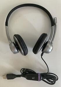 Logitech USB Microphone Headset A-0356A