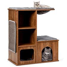 Katzenmöbel Katzenspielhaus Holz Katzenbaum Katzenhaus Kletterbaum Kratzbaum