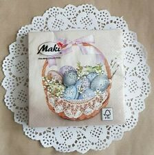 20× PRETTY EASTER PAPER NAPKINS