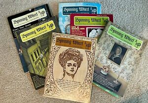 SPINNING WHEEL MAGAZINE Back Issues - The National Magazine About Antiques