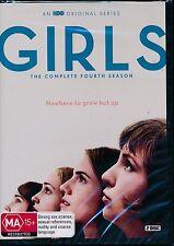 Girls The Complete Fourth Season DVD NEW Region 4