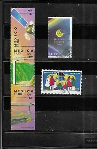 MEXICO 1989-1991. MINT TO  VERY FINE USED . AS PER SCAN