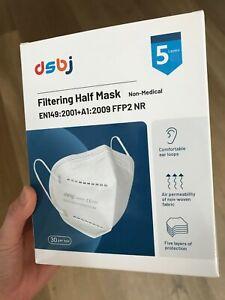 FFP2-Maske, EN149, 30 Stück
