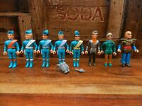 Thunderbirds Action Figure Bundle - Matchbox - The Hood Brains