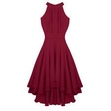 fbfc6f0b22bcd Abendkleid Weinrot günstig kaufen   eBay
