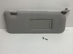 2007 Toyota Scion TC  Sun Visor Right Passenger Gray Cloth Sunvisor