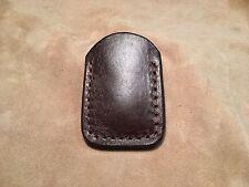 "3"" Custom Leather Pocket Sheath"