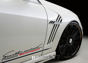 Sports mind Powered by Motorsport racing Car Vinyl Decal sticker emblem Logo