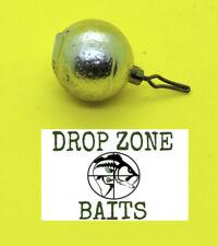 100 Count 1/4 oz Round Drop Shot Sinkers / Weights